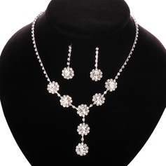 Beautiful Silver Plated Ladies' Jewelry Sets