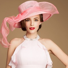 Ladies' Gorgeous Summer Cambric With Floppy Hat