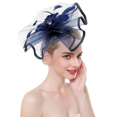 Damer' Klassisk stil/Enkel Netto garn Fascinators