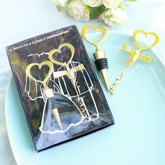 Heart Shaped Metal Bottle Openers