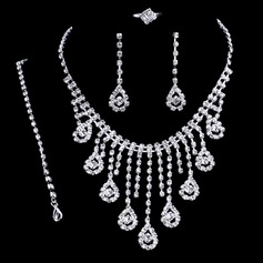 Vintage Rhinestones Ladies' Jewelry Sets