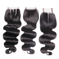 """4""""*4"""" 5A Body Human Hair Closure (Sold in a single piece)"""