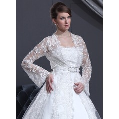 Long Sleeve Lace Wedding Wrap