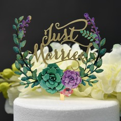 Love Is Sweet/We Do Acrylic Cake Topper (Sold in a single piece)