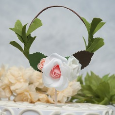 """Flower Faerie""/Flower pu Cake Topper (Sold in a single piece)"