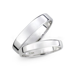 Sterling Silver Couple's Rings (289229829)