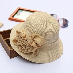 Ladies' Elegant Rattan Straw Beach/Sun Hats