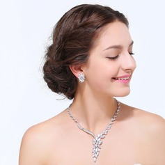 Exquisite Zircon With Cubic Zirconia Ladies' Jewelry Sets