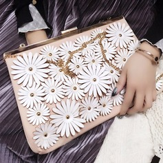 Elegant PU/Alloy Clutches
