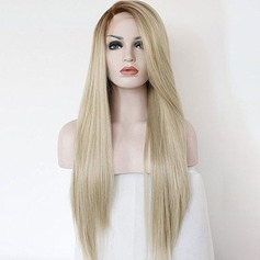 Straight Synthetic Hair Lace Front Wigs 280g