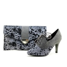 Elegant Velvet Shoes & Matching Bags
