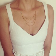 Classic Alloy Women's Necklaces