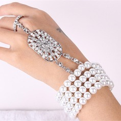 Elegant Alloy Ladies' Bracelets