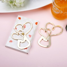 Heart Within A Heart Heart Shaped Zinc Alloy Bottle Openers