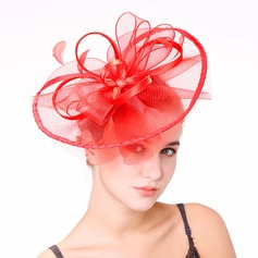 Ladies' Nice Feather/Net Yarn With Feather Fascinators/Kentucky Derby Hats/Tea Party Hats