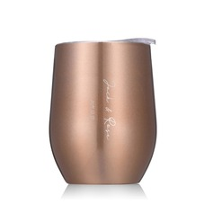 Bride Gifts - Personalized Solid Color Stainless Steel Tumbler
