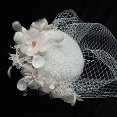Ladies' Beautiful/Gorgeous Cotton With Tulle Fascinators/Beret Hat