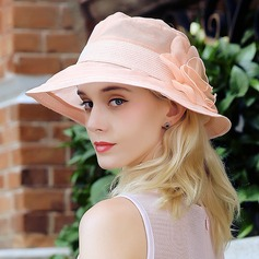 Ladies' Lovely/Fashion Silk With Silk Flower Bowler/Cloche Hat