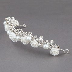 Lovely Rhinestone/Alloy/Resin Tiaras