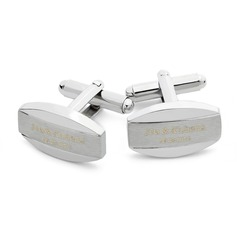 Personalized Classic Style Stainless Steel Cufflinks
