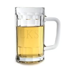 Personalized Classic Glass Beer Mug