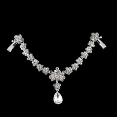 Gorgeous Rhinestone/Alloy Forehead Jewelry With Rhinestone (Sold in single piece)