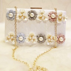 Charming Imitation Pearl Clutches