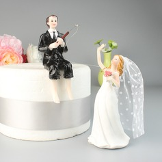 Bride And Groom/Mr. & Mrs. Resin Cake Topper