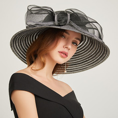 Ladies' Classic/Pretty Papyrus With Bowknot Beach/Sun Hats/Kentucky Derby Hats/Tea Party Hats