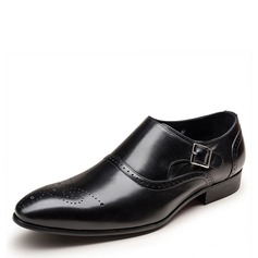 Men's Leatherette Brogue Monk-straps Dress Shoes Work Men's Oxfords