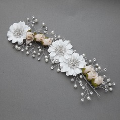 Lovely Imitation Pearls/Artificial Silk Flowers