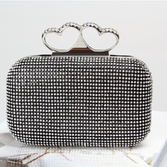 Pretty Crystal/ Rhinestone Clutches/Satchel