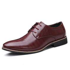 Men's Microfiber Leather Lace-up Dress Shoes Work Men's Oxfords (259173759)