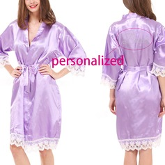 Personalized Polyester Bridal Robe (20 letters or less)  (041116929)