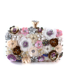 Gorgeous/Fashionable/Girly/Colorful/Attractive Satin Clutches (012250923)