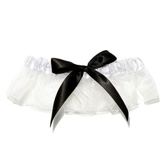 Charming Satin Wedding Garters