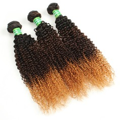 5A Virgin/remy Curly Mid-Length Long Human Hair Hair Weaves/Weft Hair Extensions (Sold in a single piece) 100g (219131093)
