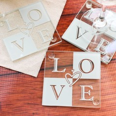 Love Glass Coaster