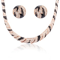 Leopard Alloy Women's/Ladies' Jewelry Sets