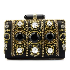 Fashional Satin/Crystal/ Rhinestone/Acrylic Clutches/Fashion Handbags
