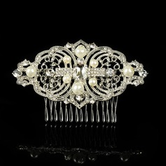 Glamourous Alloy/Imitation Pearls Combs & Barrettes