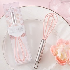 Elegant Stainless Steel Whisk Favor