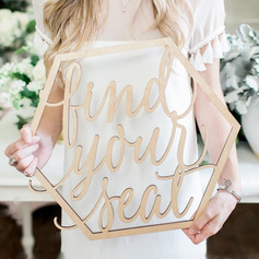 Simple/Personalized Wooden Wedding Sign