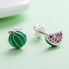 Exquisite Silver Ladies' Fashion Earrings