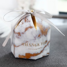 Forever Love Other Card Paper Favor Boxes With Ribbons