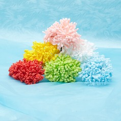 Beautiful Coral Foam Artificial Flowers