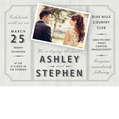 Magnificant Moment Wedding Cards
