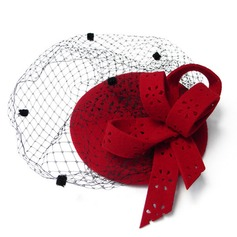 Ladies' Beautiful Autumn/Winter Wool With Fascinators