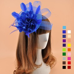 Ladies' Elegant Cambric With Silk Flower Fascinators/Kentucky Derby Hats