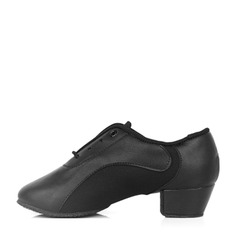 Kids' Leatherette Fabric Practice Dance Shoes